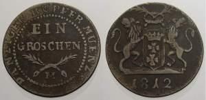 Ein Groschen, 1812