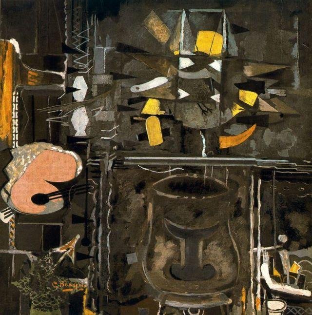 G. Branque: Atelier IX (1952-53-56)