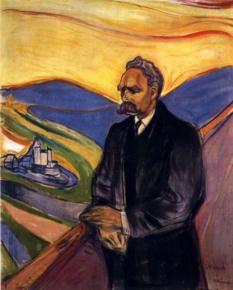F. Nietzsche por C. Münch