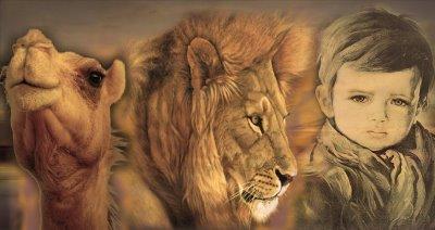 Las 3 transformaciones: del camello al león y al niño