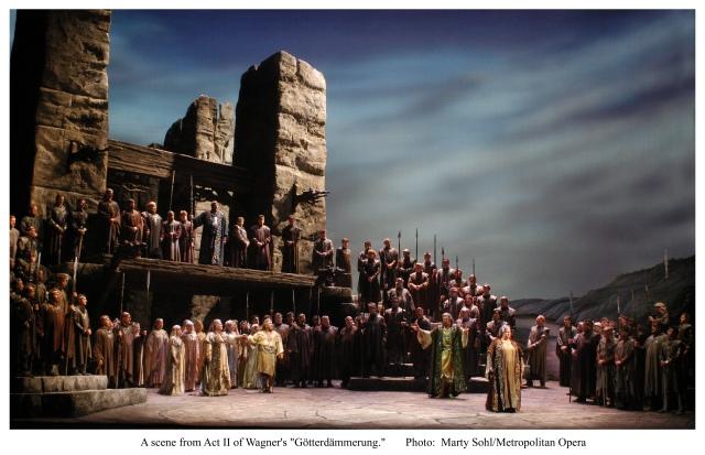 Götterdämmerung Act II Metropolitan Opera