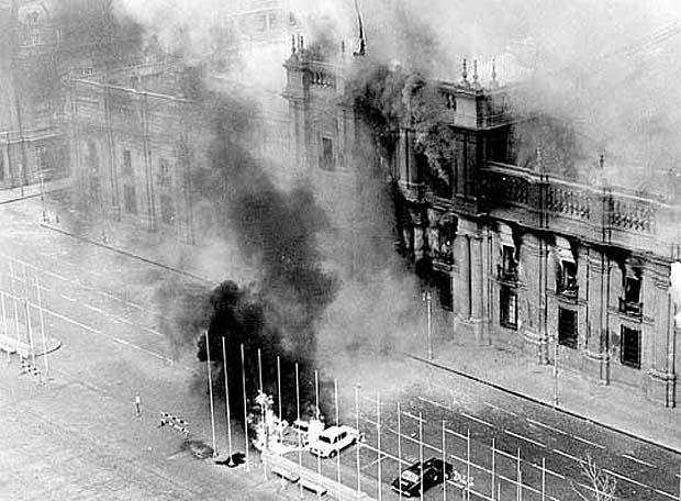 Asalto al Palacio de la Moneda, Santiago de Chile, 11 de setiembre, 1973
