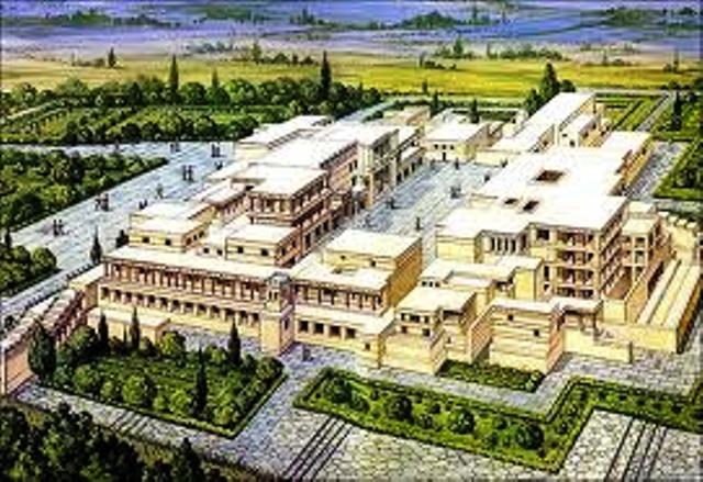 Palacio de Cnosos (Minoico-cretense)