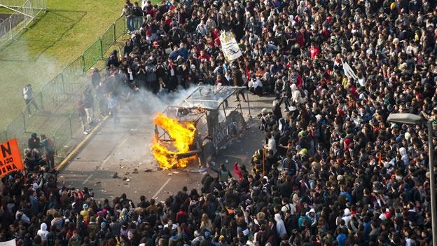 Protestas estudiantiles en Chile 2011