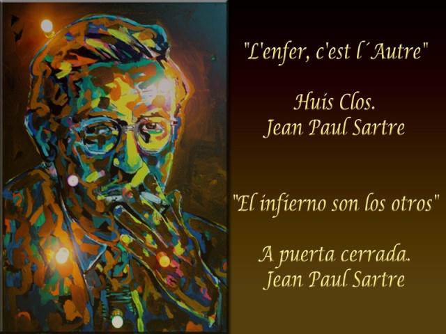 Jean Paul Sartre El infierno son los otros 800 X 600