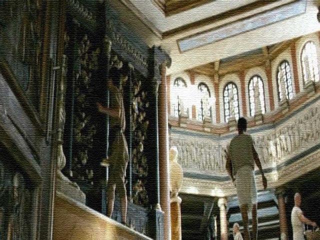 Biblioteca de Alejandría (Recreación)