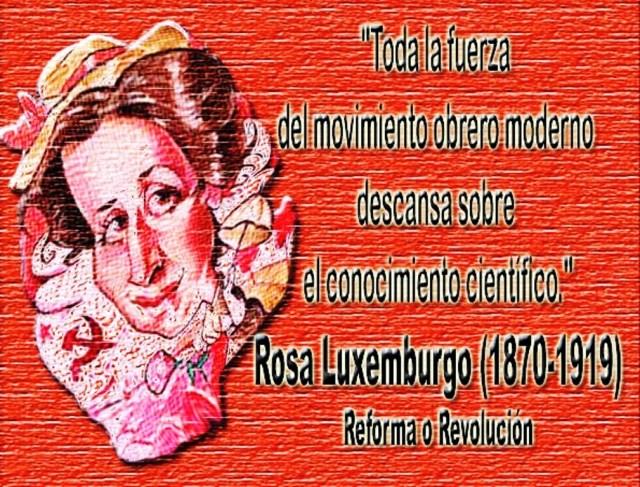 Rosa Luxemburgo Movimiento obrero